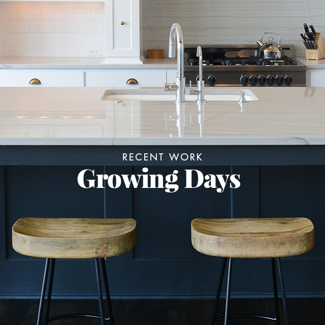 Recent Work: Growing Days