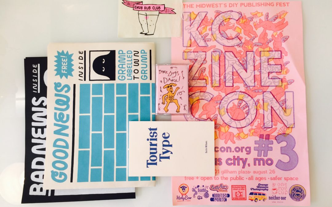 We channeled our inner 90s kid at the 3rd Annual KC Zine Con. Our content strategist and graphic designer gathered some great content and inspiration.