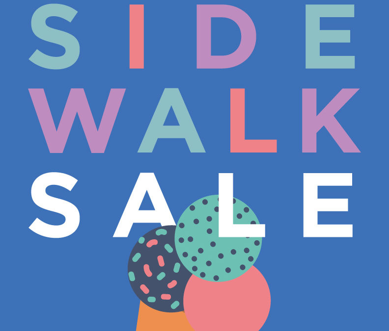 Brookside Sidewalk Sale 2018 Branded Event Marketing